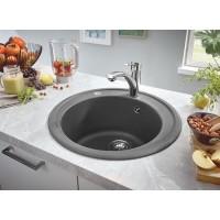 Мойка для кухни круглая Grohe K200 50-C 51 1.0, Granite Grey (31656AT0)