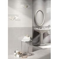 Декор Интеркерама Rene 23x50 серый