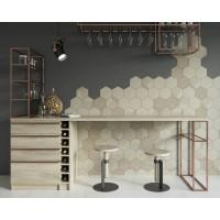 Декор Paradyz Esagon Concrete 17,1x19,8 Silver Inserto A