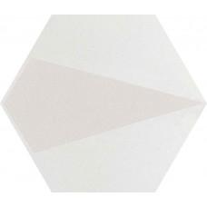 Декор Paradyz Esagon Concrete 17,1x19,8 Silver Inserto B