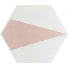 Декор Paradyz Esagon Concrete 17,1x19,8 Silver Inserto D