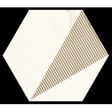 Декор My Way Paradyz Calacatta Hexagon С 17,1X19,8