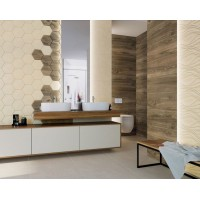Декор Paradyz Serene bianco 25x75