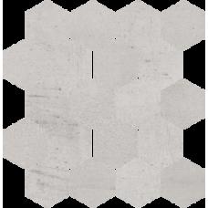 Мозаика My Way Paradyz Space Cieta Hexagon grys 25,8X28