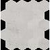 Мозаика My Way Paradyz Space Cieta Hexagon grys poler 25,8X28
