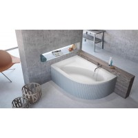 Ванна Radaway Mistra 150x100 левая + ножки (WA1-07-150x100L)