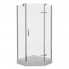 Душевая кабина Eger Stefani 100x100 с поддоном стекло прозрачное (599-535-100)