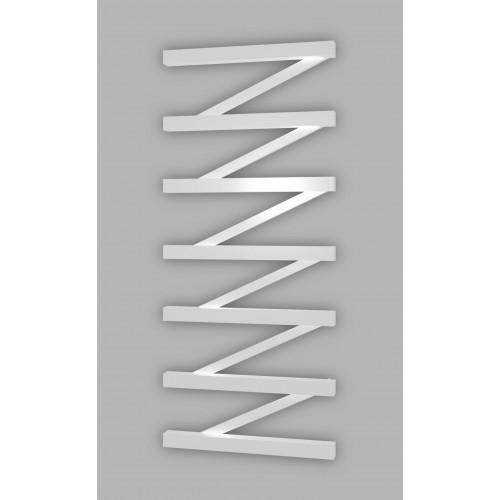 Электрический полотенцесушитель Genesis-Aqua ZigZag 80x53 см, белый