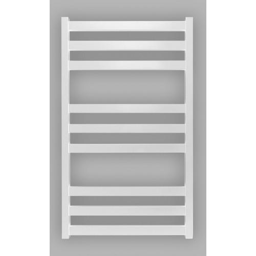 Электрический полотенцесушитель Genesis-Aqua Tristar flat  120x53 см, белый