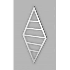 Полотенцесушитель Genesis-Aqua Angels 120x60 см, белый