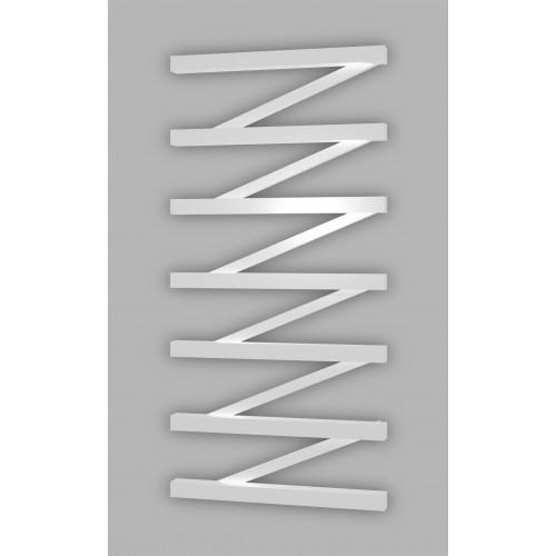 Электрический полотенцесушитель Genesis-Aqua ZigZag 120x53 см, белый