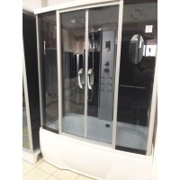 Гидробокс Miracle F77-3W 150x85 cерое стекло