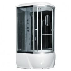 Гидробокс Miracle F76-3W L 120x85 cерое стекло