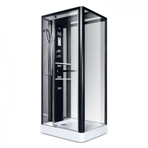Гидробокс Miracle NA113-3A 110x90 прозрачное стекло