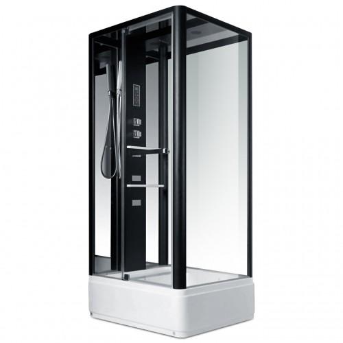 Гидробокс Miracle NA115-3A 110x90 прозрачное стекло
