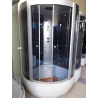 Гидробокс Miracle F35-3 115x115 cерое стекло