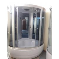 Гидробокс Miracle F39-3 150x150 cерое стекло
