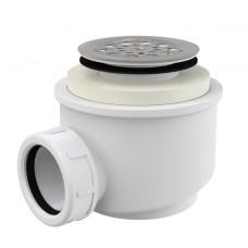 Сифон Alcaplast A46-50 для душевого поддону с нержавеющей peшiткою