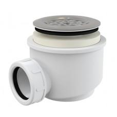 Сифон Alcaplast A46-60 для душевого поддону с нержавеющей peшiткою