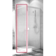 Боковая стенка  Aquaform ELBA 90 стекло полосы (103-26584)