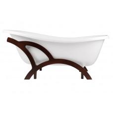 Ванна Besco Otylia 170x77, деревянный каркас