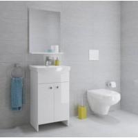 Мебельный комплект Cersanit Sati+Carsania 50 (шкафчик+умывальник)