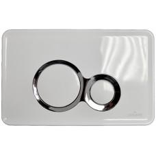 Кнопка Cersanit для инсталляции Slim&Silent, OTTO белая (K97-235)