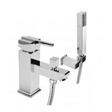Комплект для ванны на одно отверстие Deante Cubic хром (BDD 016M)