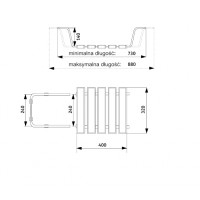 Сидение для ванны Deante Vital (NiV 651C)