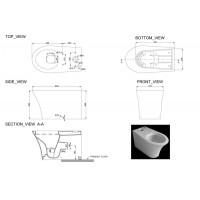 Компакт половой Devit Gredos с крышкой из дюропласта soft close (3010129)