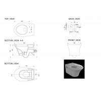 Унитаз подвесной Devit Gredos с крышкой из дюропласта soft close (3020129)