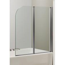 Штора для ванны Eger 120x138 прозрачное стекло (599-121CH)