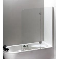 Штора для ванны Eger 120x150 прозрачное стекло, права (599-120CH)