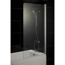 Штора для ванны Eger 80x150 прозрачное стекло, права (599-02)