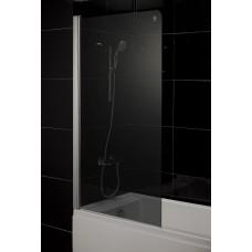 Штора для ванны Eger 80x150 тоноване стекло, левая (599-02 grey)