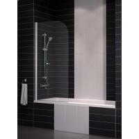 Шторка на ванну Eger 80x150 тонированное стекло (599-02L/grey)