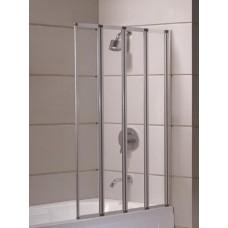 Штора для ванны Eger 89x140 прозрачное стекло (599-110)