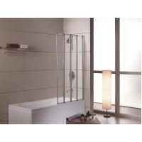 Шторка на ванну Eger 89x140 прозрачное стекло (599-110)