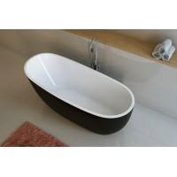 Ванна акриловая Excellent Comfort 1750x780 цвет белый/черный (WAEX.COM17WB)