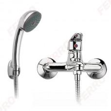 Смеситель для ванны FERRO Smile с душевым набором (BSM11)