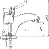 Смеситель для раковины FERRO Werona (BTW2)