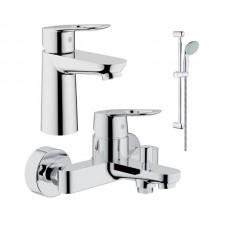 Набор смесителей для ванны GROHE Bauloop (123214S)