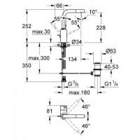 смеситель  для раковины Grohe Essence (32628000)