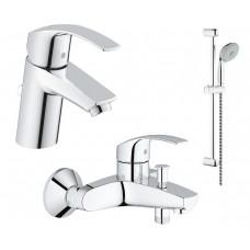 Набор смесителей для ванны GROHE Eurosmart (123238S)
