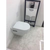 Комплект инсталляция Grohe 4 в 1 + подвесной унитаз Grohe Solido Perfect (39186000)