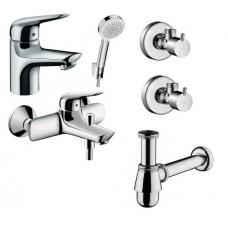 Набор смесителей для ванны Hansgrohe Novus 70 5в1 (710242665)