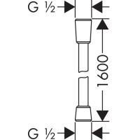 Душевой набор Hansgrohe Raindance Select S 120 хром/белый (26630400)