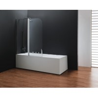 Штора для ванны Koller Pool 115x140 Clear прозрачное/права QP95