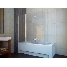 Штора для ванны Koller Pool 150x140 Clear прозрачное/левая QP96