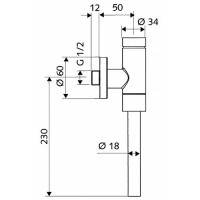 Сливной клапан Kolo Schellomat Basic (96017)